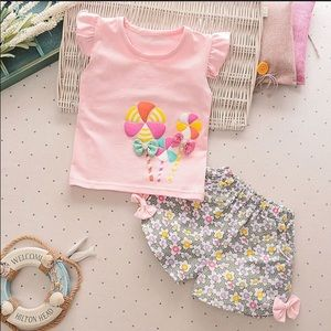 Other - Little girls boutique outfit size 5T